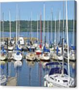 Sailboat Reflections Canvas Print