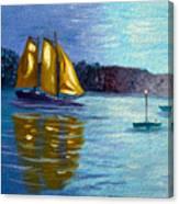 Sailboat-  Sailing- Come Sail Away Canvas Print
