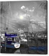 Sailboat Series 14 Canvas Print