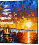Sailer Canvas Print