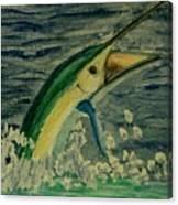 Sailfish Canvas Print