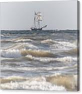Sailin Home Canvas Print