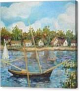 Sailing 1 Canvas Print