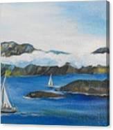 Sailing 2 Canvas Print