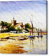 Sailing At Maldon Canvas Print
