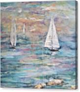 Sailing Away 1 Canvas Print
