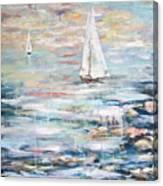 Sailing Away 2 Canvas Print