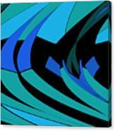 Sailing Blue - Left Canvas Print