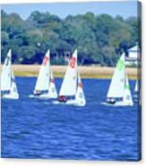 Sailing Charleston Harbor Canvas Print