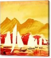 Sailing Class Canvas Print
