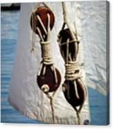 Sailing Dories 2 Canvas Print