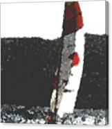 Sailing In Acapulca Canvas Print