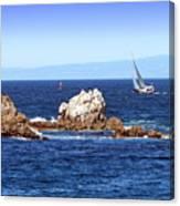 Sailing Monterey Bay Canvas Print
