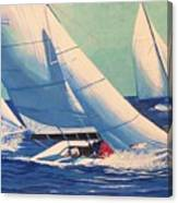Sailing Regatta Canvas Print