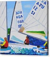 Sailing Regatta Canvas Print