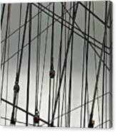 Sailing Rhythm Canvas Print