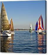 Sailing Seattle Canvas Print