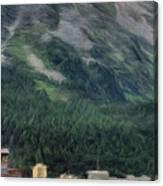 Sailing St Moritz Canvas Print