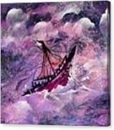 Sailing The Heavens Canvas Print