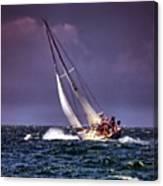 Sailing To Nantucket 001 Canvas Print
