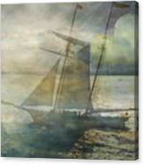 Sailing To The Moon Canvas Print