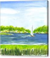 Sailing Wexford Canvas Print