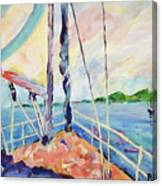 Sailing - Wind In Your Face Canvas Print