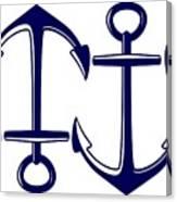 Sailors Anchor Canvas Print