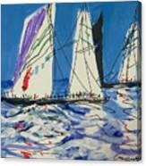 Sails IIi Canvas Print