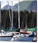 Sails Of Seldovia Canvas Print
