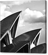 Sails Of Sydney Opera House Canvas Print