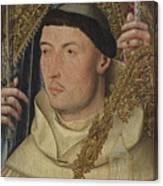 Saint Ambrose With Ambrosius Van Engelen   Canvas Print