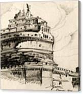 Saint Angel Castle Canvas Print