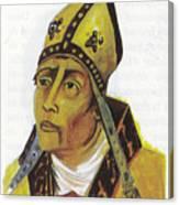 Saint Augustin Hippone Canvas Print