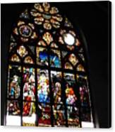 Saint Augustine Stained Glass Canvas Print
