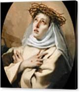 Saint Catherine Of Sienna Canvas Print