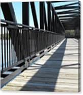 Saint Charles Walking Bridge Canvas Print