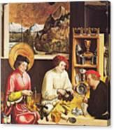 Saint Eligius In His Workshop Canvas Print