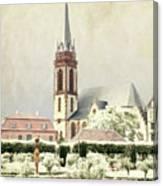 Saint-elisabeth Church Canvas Print