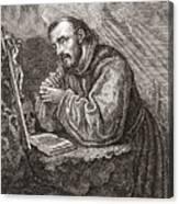 Saint Francis Of Assisi Canvas Print