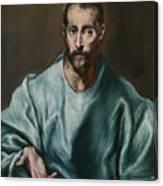 Saint James The Elder Canvas Print