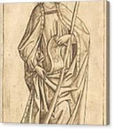 Saint James The Less Canvas Print
