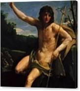 Saint John The Baptist 1637 Canvas Print