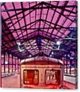 Saint Lazare Station Canvas Print