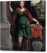 Saint Lucy Canvas Print