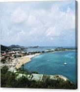 Saint Martin Coast Canvas Print