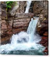 Saint Mary Falls - Glacier National Park Canvas Print