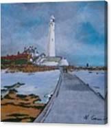 Saint Mary's Lighthouse Canvas Print