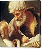 Saint Matthew Canvas Print