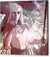Saint Michael Doll 2 Canvas Print